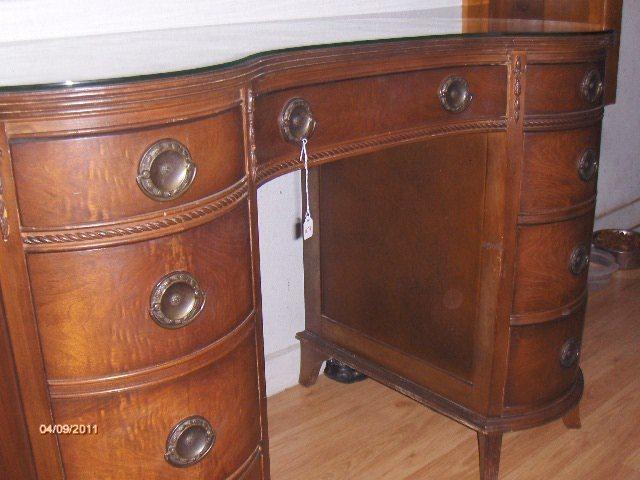 charles r sligh kidney shaped desk my antique furniture