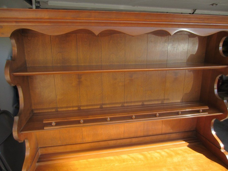 Value Of 1950 39 S Ethan Allen Buffet Hutch My Antique Furniture Collection