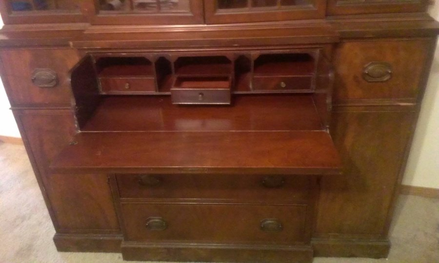 thomasville china hutch my antique furniture collection