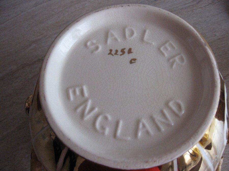 I Have A Gold James Sadler Biscuit Barrel With A Cane