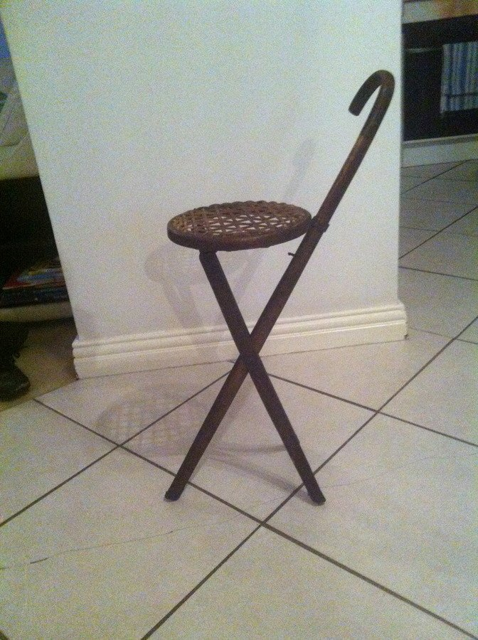 Walking Stick Stool My Antique Furniture Collection