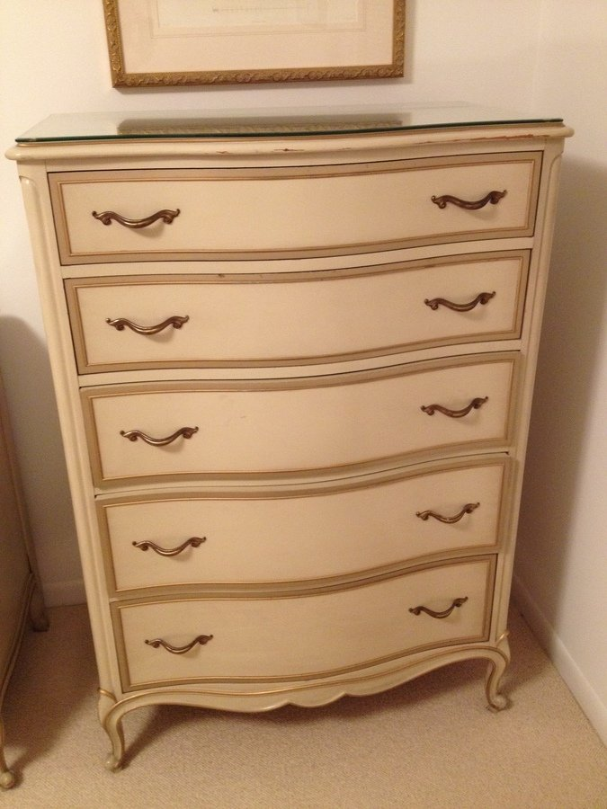 Old Bedroom Furniture #19: I Have A Drexel French Provincial Bedroom Set That Is Over 50 Years Old.
