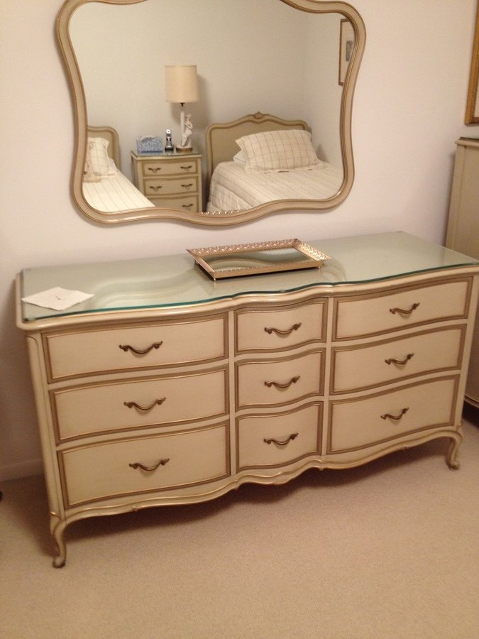 i have a drexel french provincial bedroom set that is over 50 years old my antique furniture. Black Bedroom Furniture Sets. Home Design Ideas