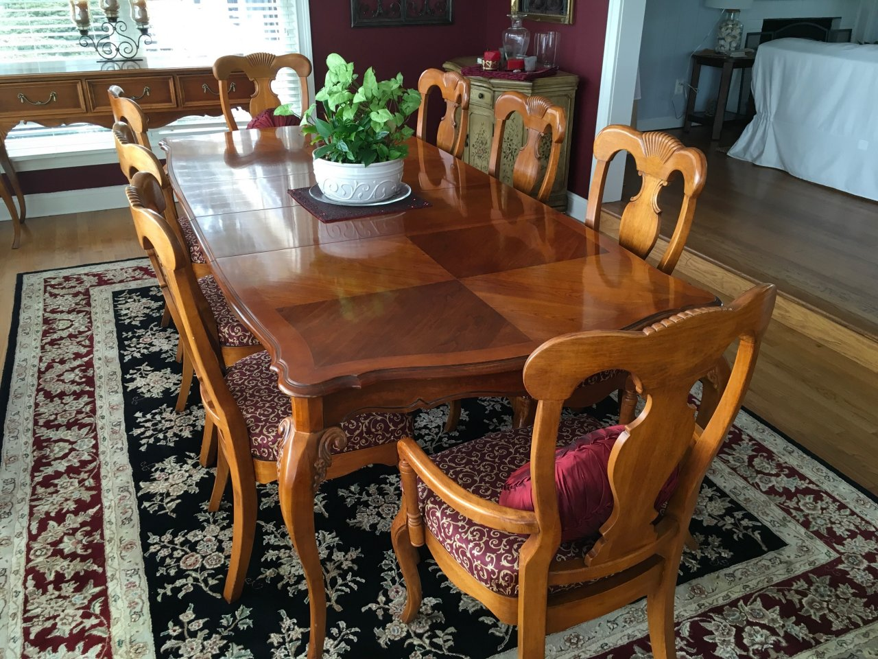 Lynn Hollyn Lexington Dining Set : My Antique Furniture Collection