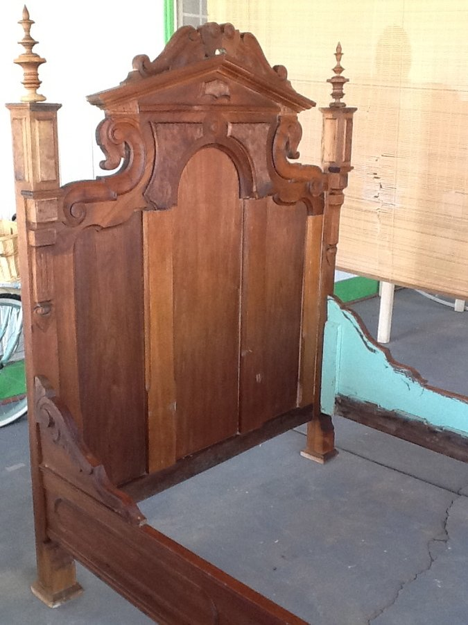 1800 39 S Bed Frame My Antique Furniture Collection