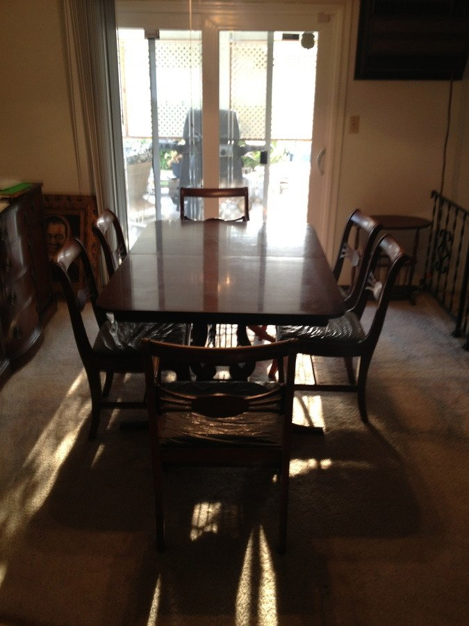 drexel the new hampton court group dining set my antique furnit