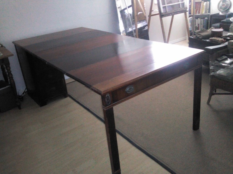 I Am Looking For A Saginaw Expand O Matic Dining Table I Li My Antique Furniture Collection