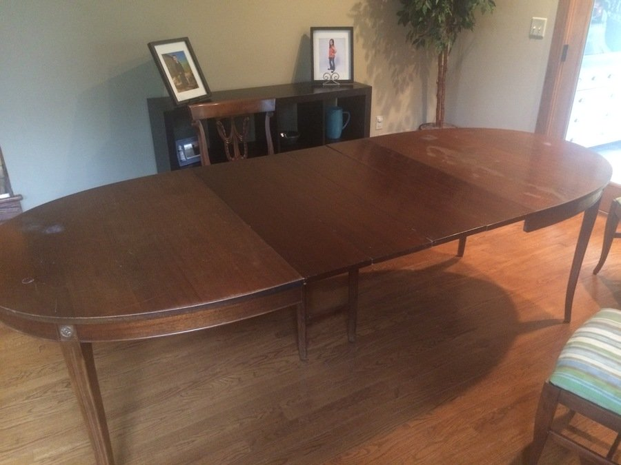 What is it worth hello i have an rway dining table set for R way dining room furniture