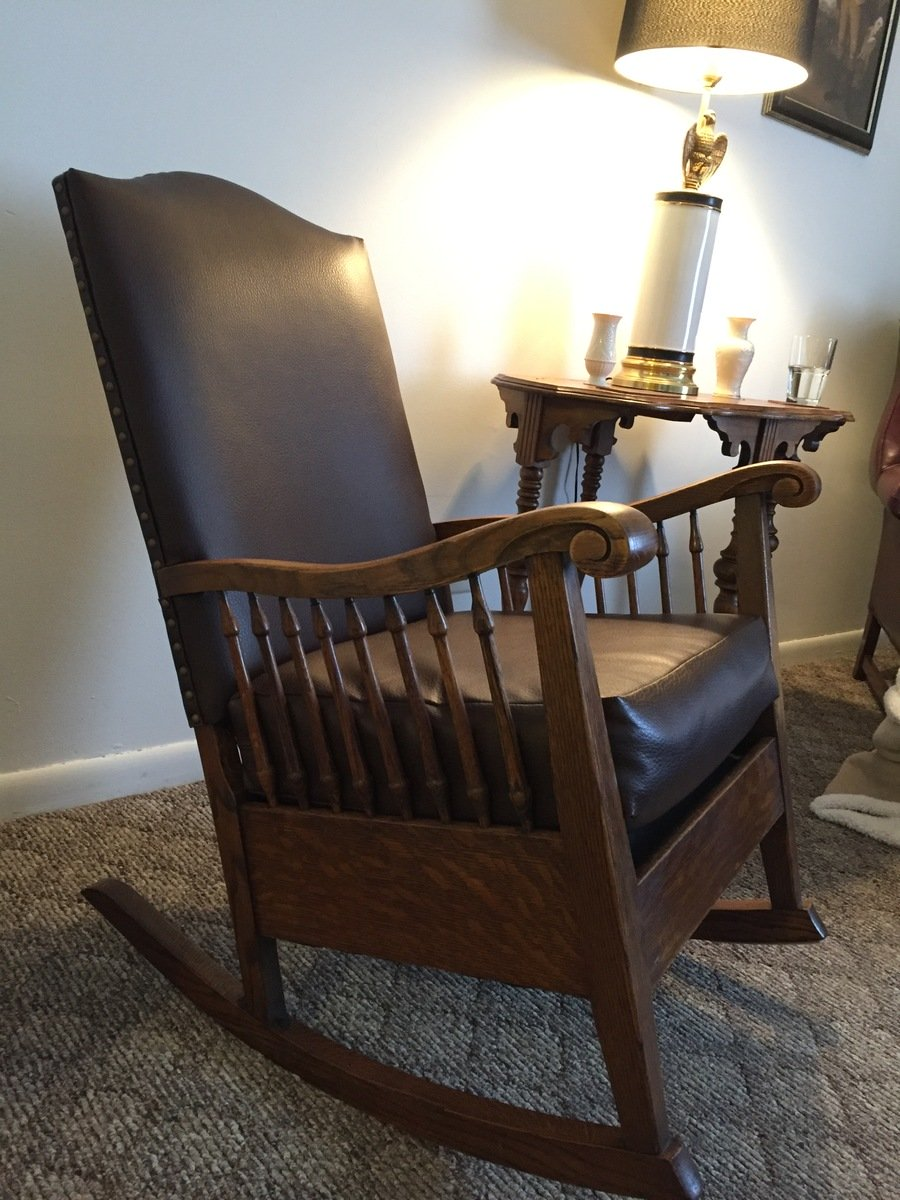 Antique rocking chair identification of style my