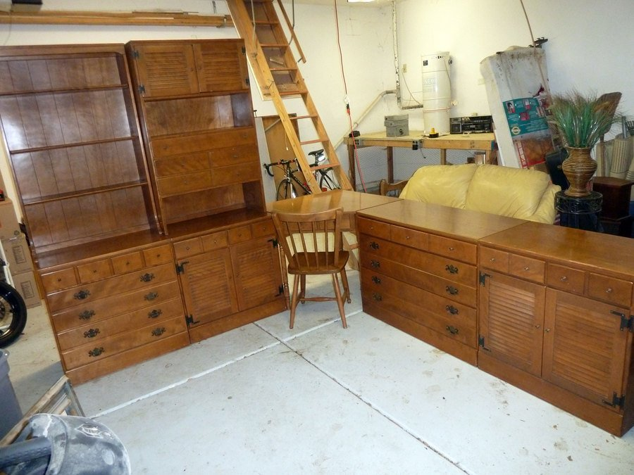 Ethan Allen Baumritter 8 Piece Bedroom Set What Is It Worth My Antique