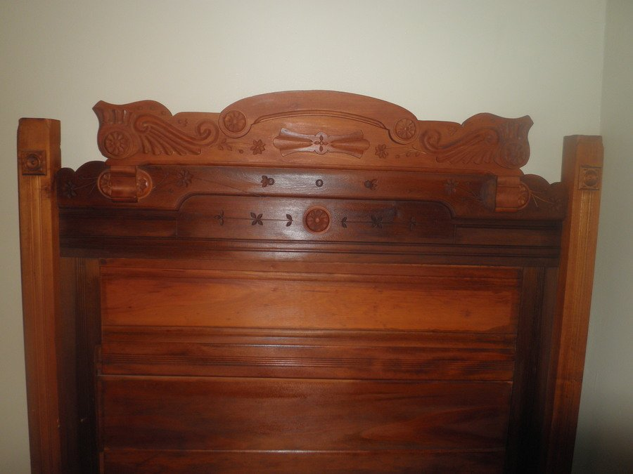 Value Of My Antique Bed My Antique Furniture Collection