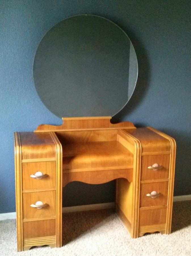 What Is The Value Of This 1930s Waterfall Vanity By F.S ...