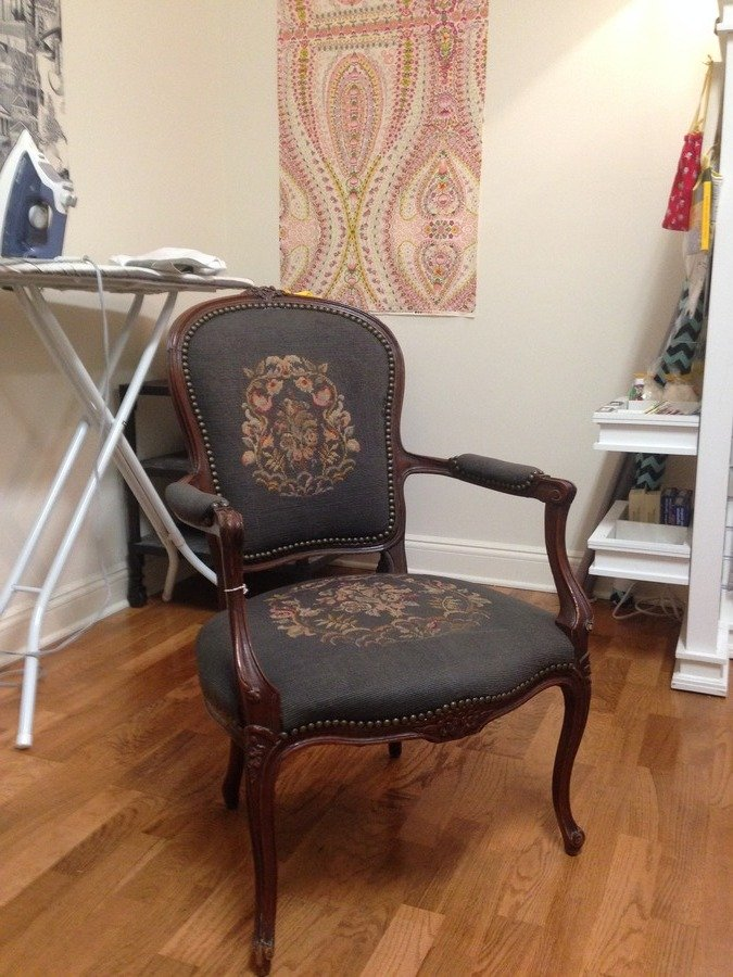 Whether To Salvage This Louis Xv Chair My Antique