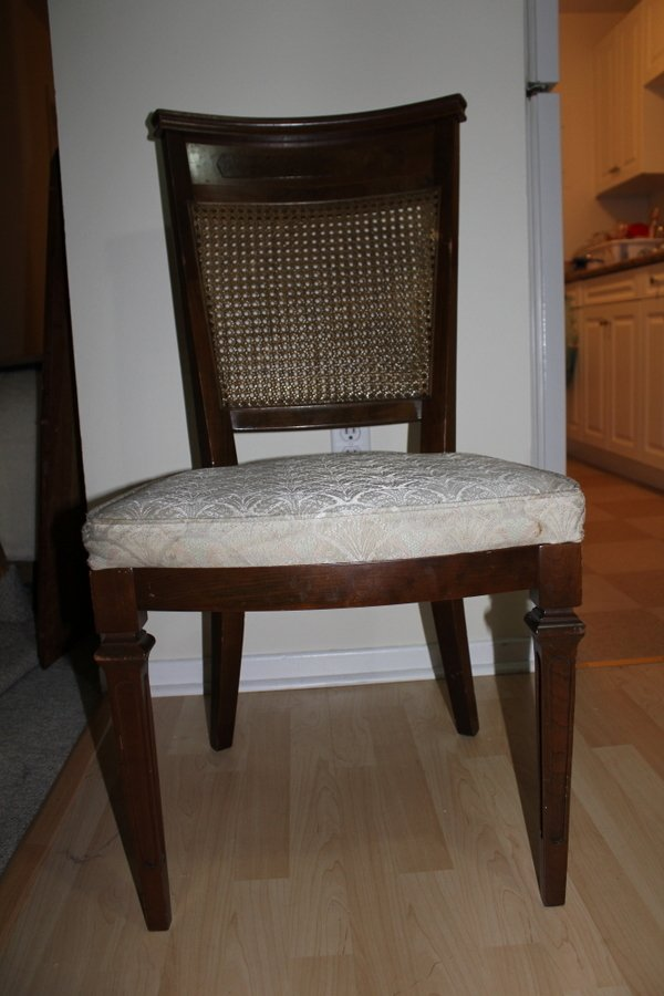 Date For Vintage Cane Back Dining Chairs My Antique