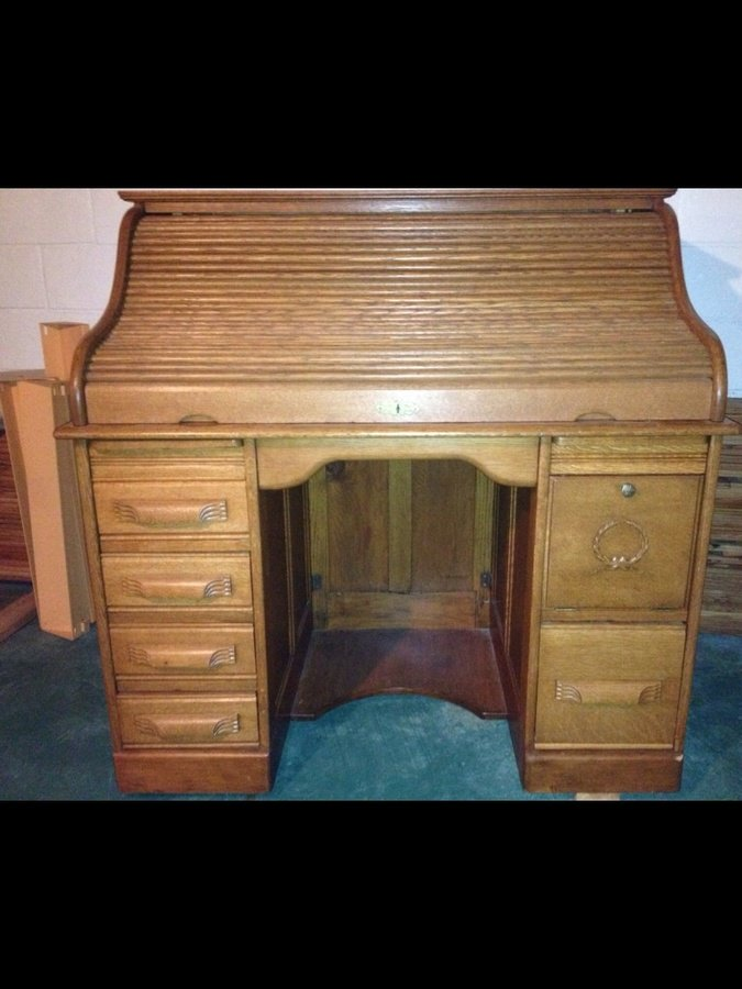 Antique Roll Top Desk 4th Generation Owner My Antique