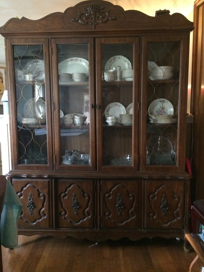 bassett furniture china cabinet my antique furniture