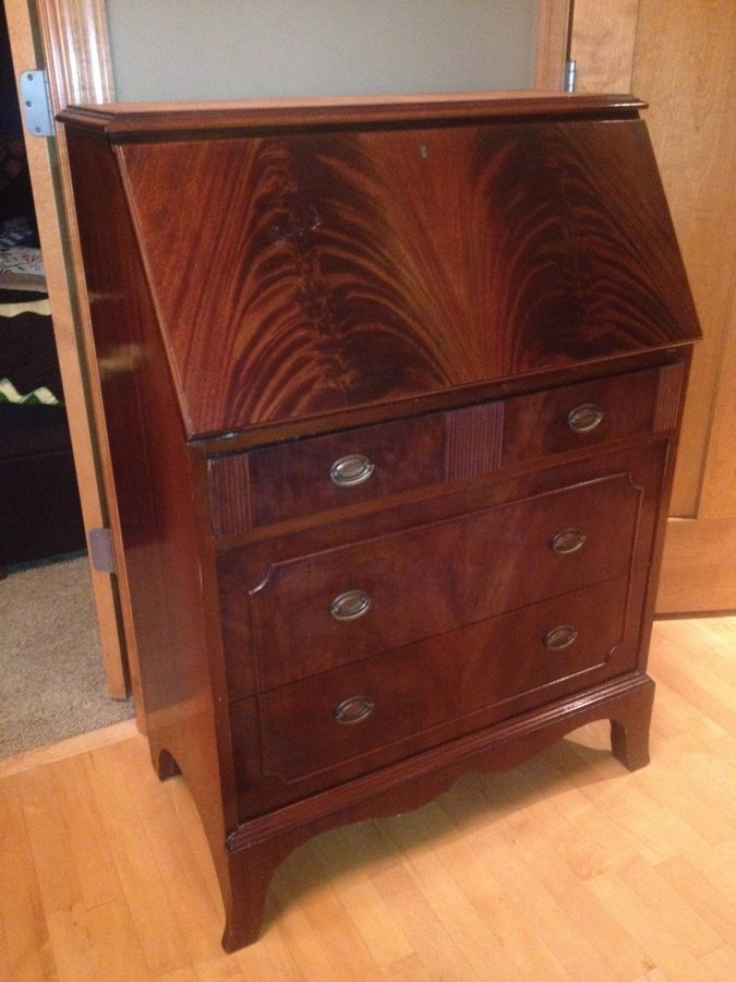 Ebert Furniture Company Secretary Desk
