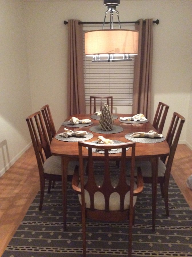 I Have A Dining Set From Lenoir pany With Original Tag