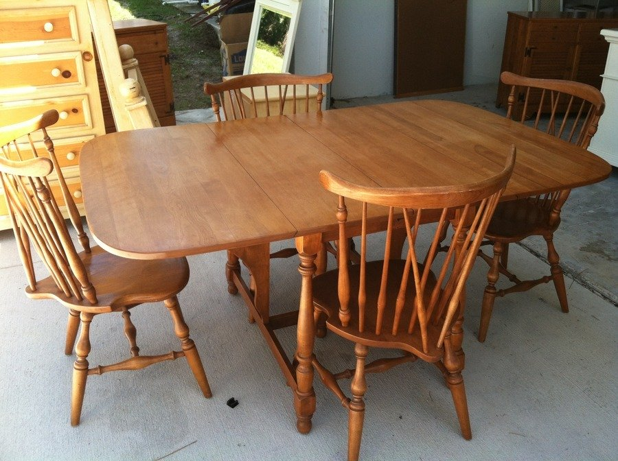 Ethan Allen Baumritter Dining Room Set My Antique Furniture Collection