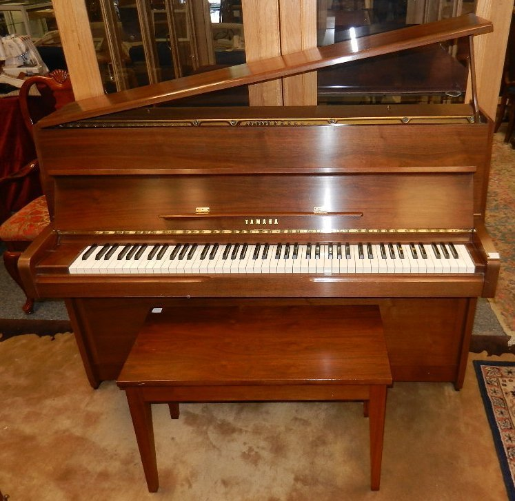how can i determine the model number of a yamaha upright