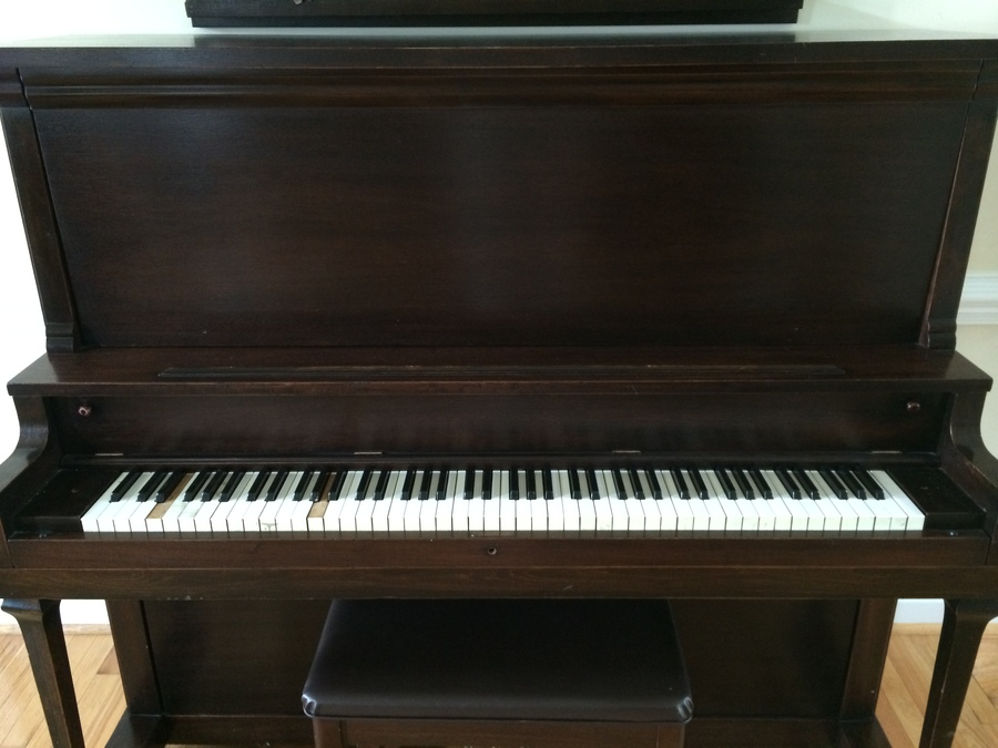 I have a leonard and co upright serial number 123432 with for How much space does a baby grand piano need