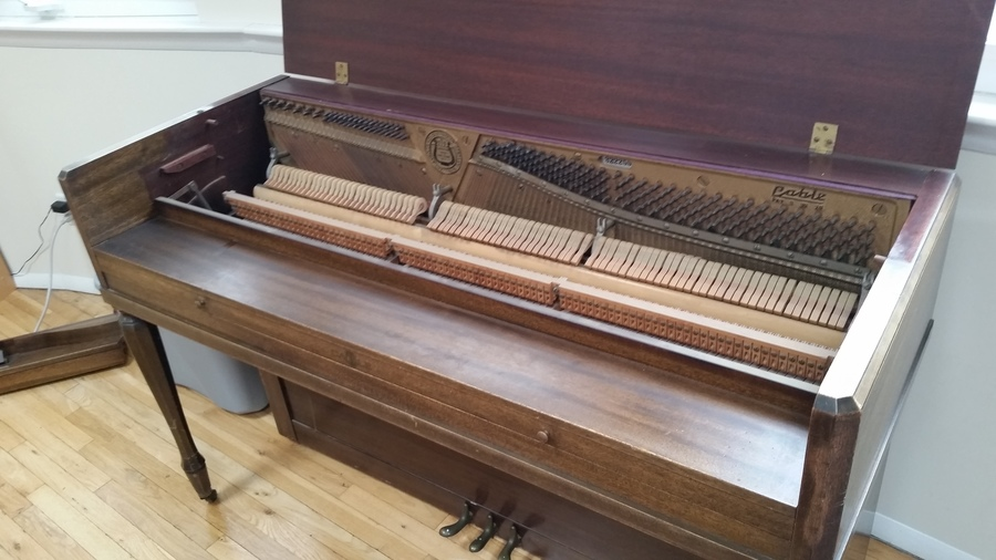 Age value of a conover cable piano serial 322255 pat 3 for How much space does a baby grand piano need