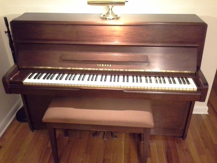 I have a yamaha 42 console piano walnut serial number 1209287 my parent my piano friends - Yamaha console piano models ...