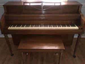 Mehlin & Sons art case grand piano - YouTube