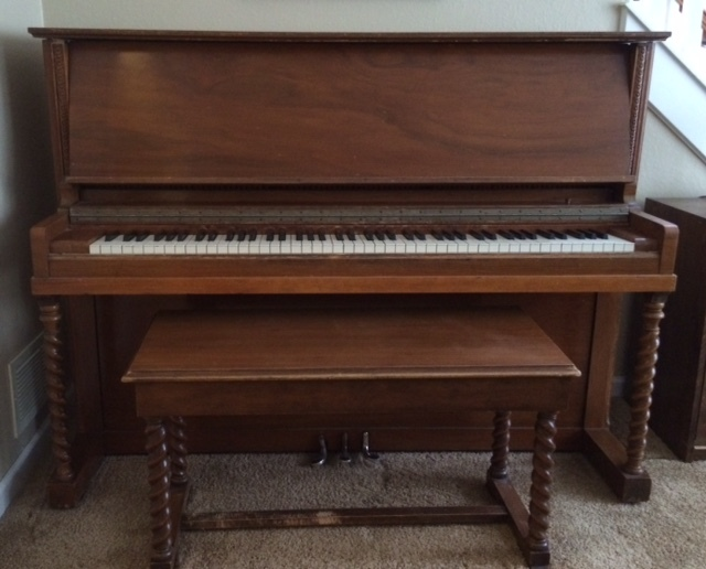 I Have A Whitney Upright Piano The Dimensions Are 44 5 H