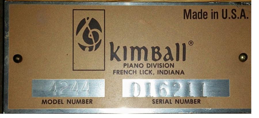 used kawai ust 7 serial number