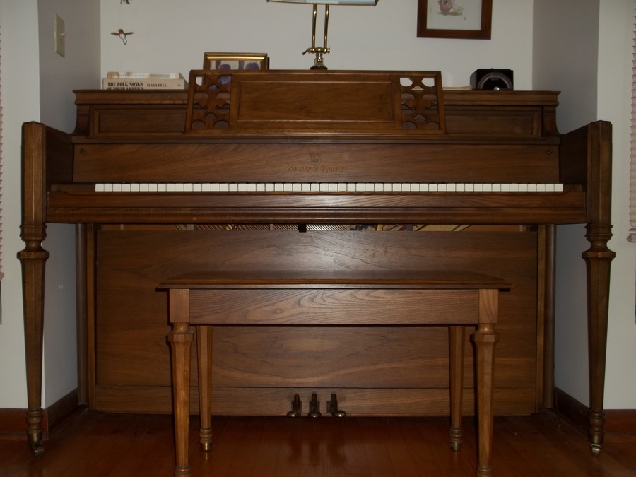 What is my story clark piano w bench worth piano is 59 for How much space does a baby grand piano need
