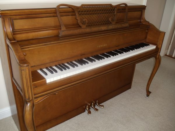 Can anyone tell me the model number of this yamaha console p my piano friends - Yamaha console piano models ...