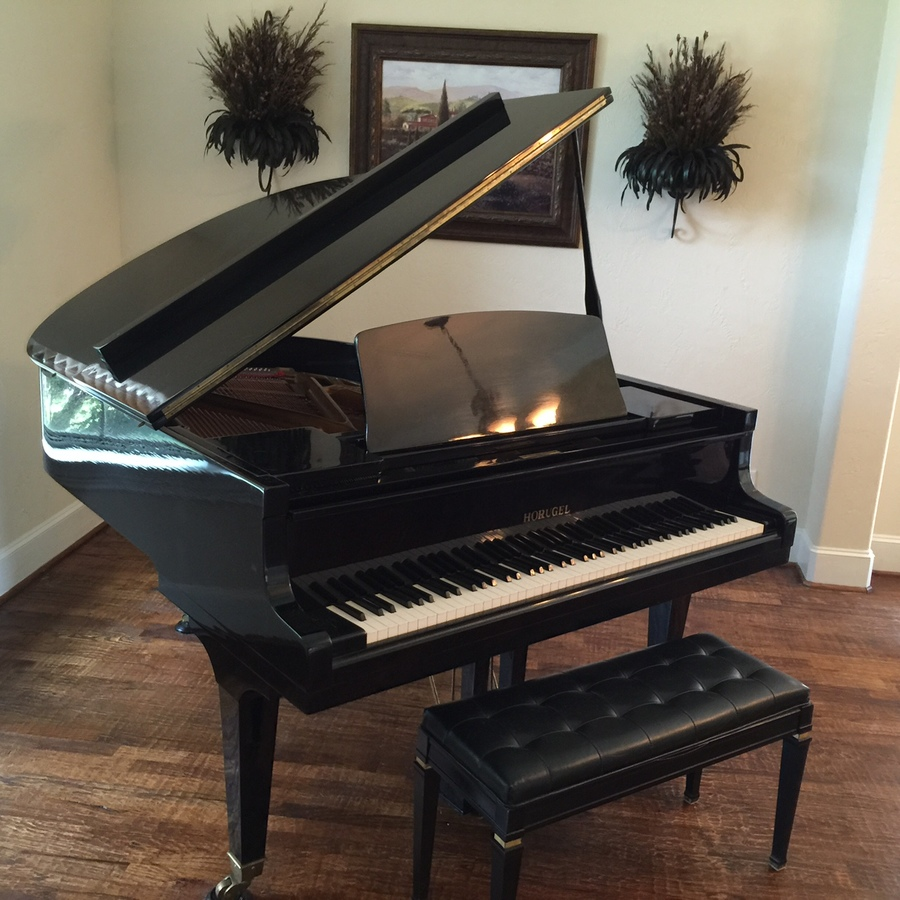 Horugel baby grand piano my piano friends for How much space does a baby grand piano need