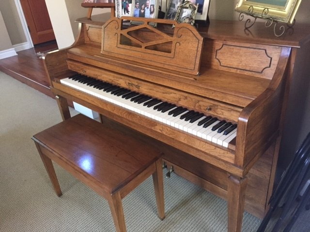 Paul Mehlin and Sons Parlor Grand - Sweeney Piano