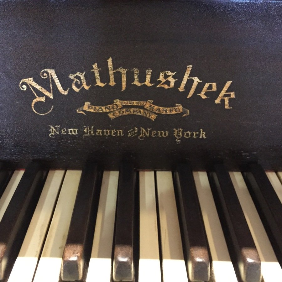 Mathushek baby grand piano lock my piano friends for How much space does a baby grand piano need