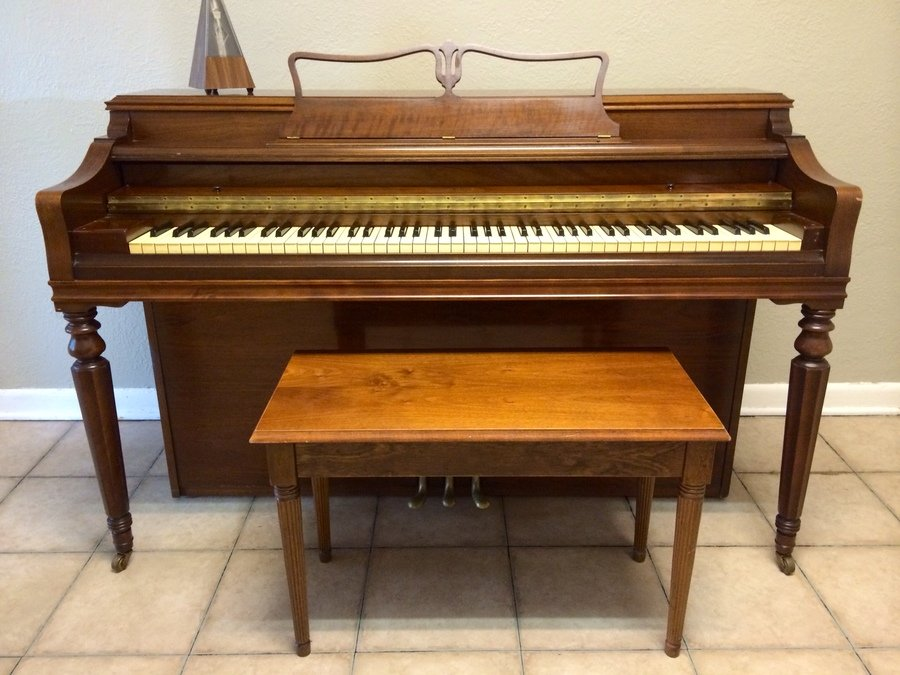 george steck piano serial number