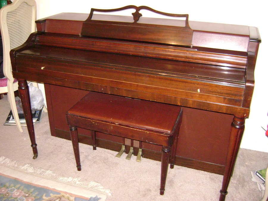 Wurlitzer my piano friends for How much space does a baby grand piano need
