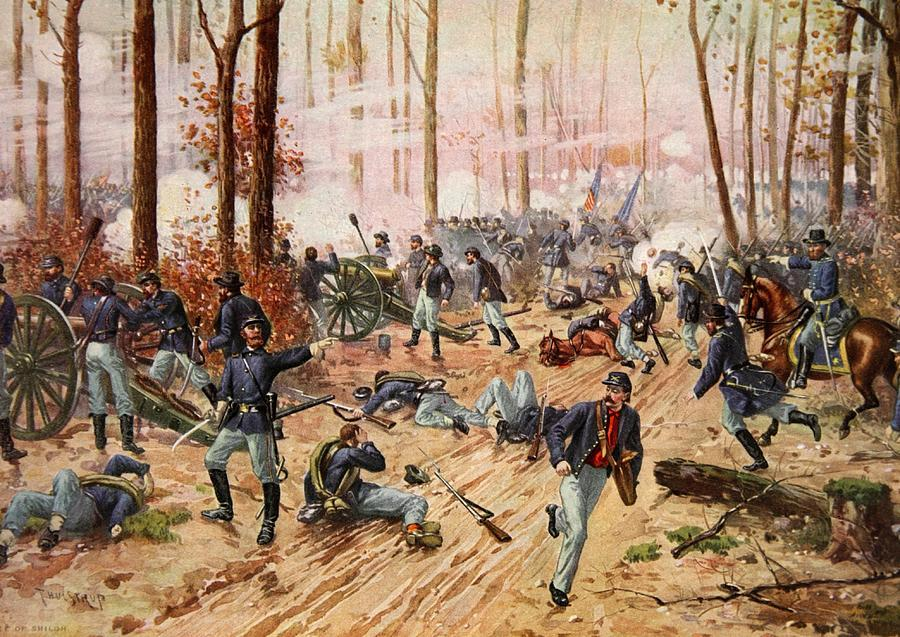 The blood bath at the battle of shiloh