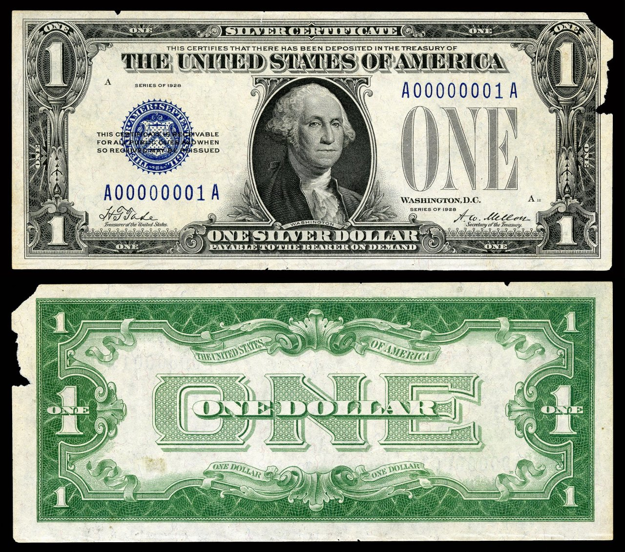 How much is a silver certificate worth artifact collectors how much is a 1 silver certificate worth 1betcityfo Images