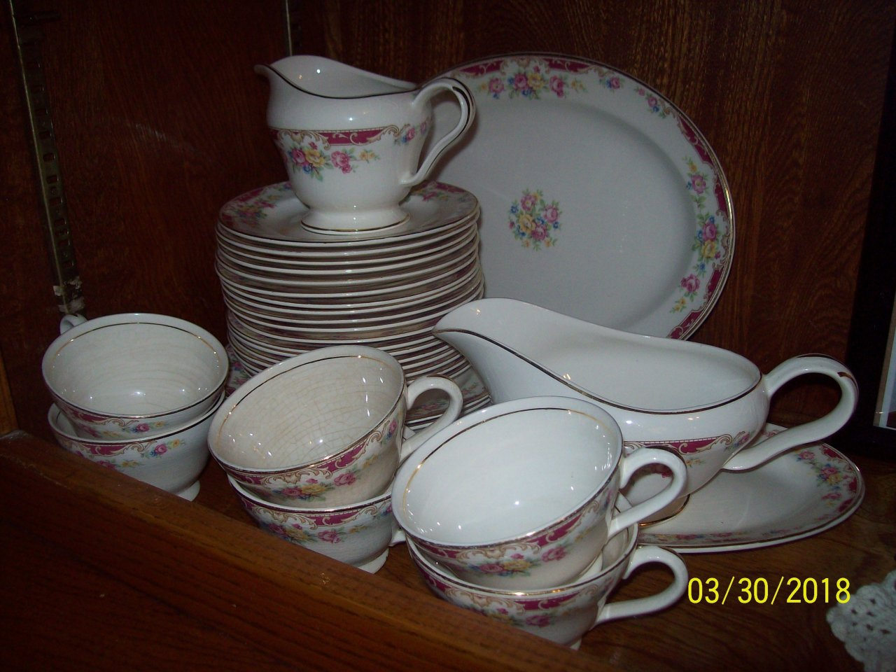 I have a 60 piece china dinnerware set with the number 47-1. Can you tell m... julesdilly 4 months ago & I Have A 60 Piece China Dinnerware Set With The Number 47-1. Can You ...