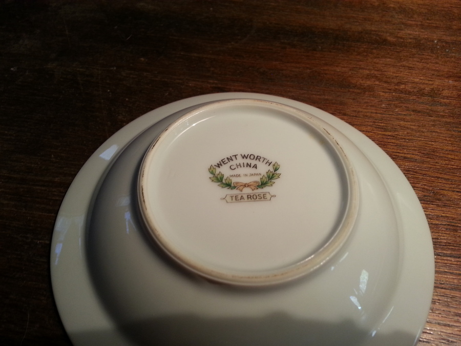 What would the value be? I have a complete service for 12 that has been stored for several years so it is in excellent condition. & Wentworth Tea Rose China Service For 12 | Artifact Collectors