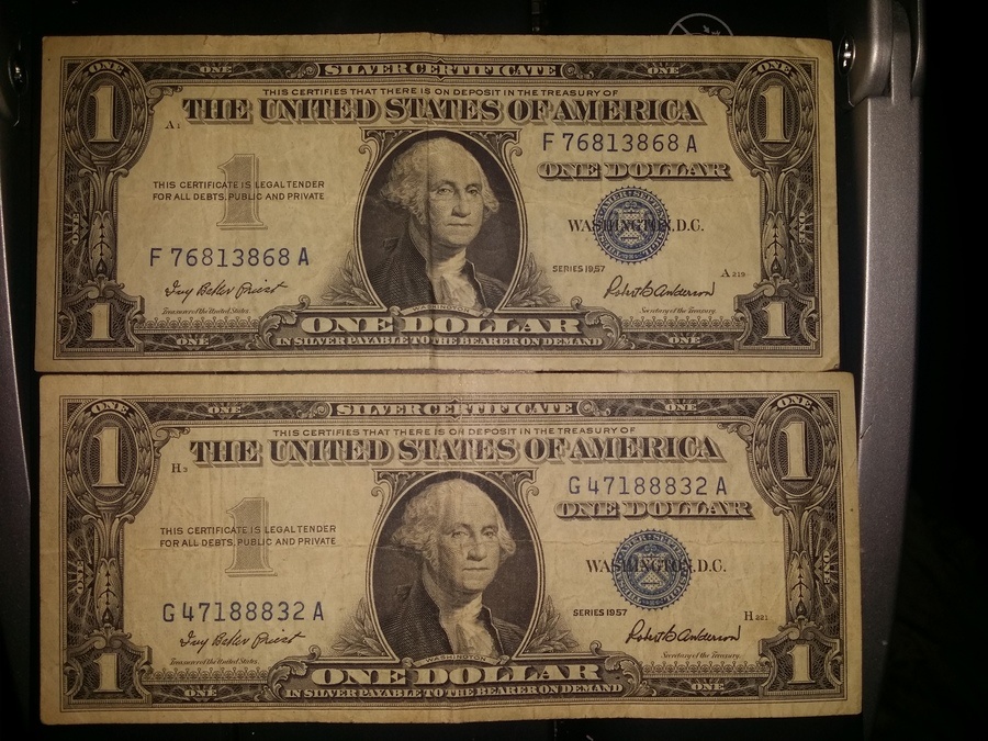 Details - What Are The Values Of These Two Series 1957 Silver ...