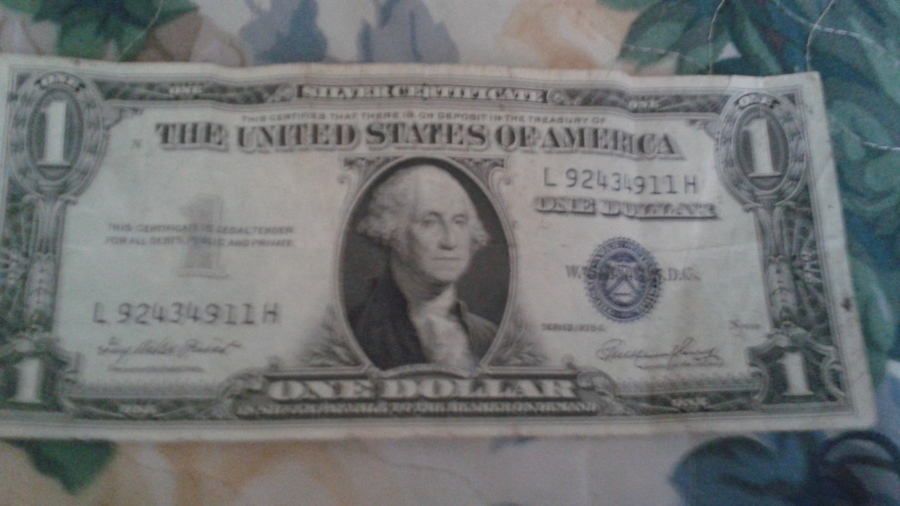 Silver Certificate 1935 E Dollar How Much Is It Worth Artifact