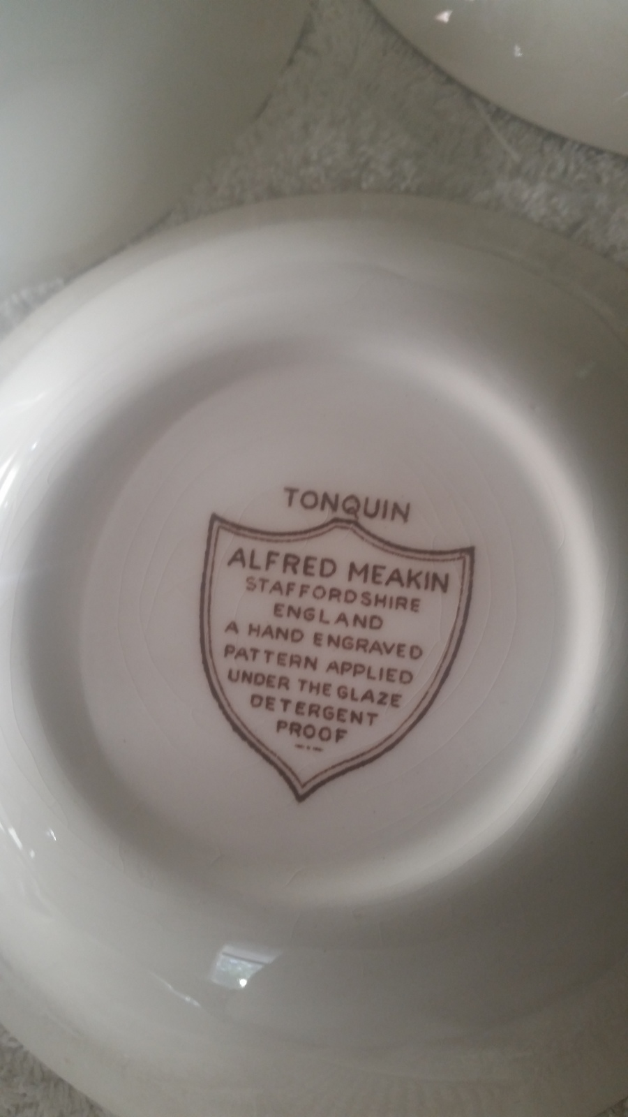 Brown Tonquin Alfred Meakin Staffordshire England Dinnerware Collection Meghan 2 years ago : meakin dinnerware - Pezcame.Com