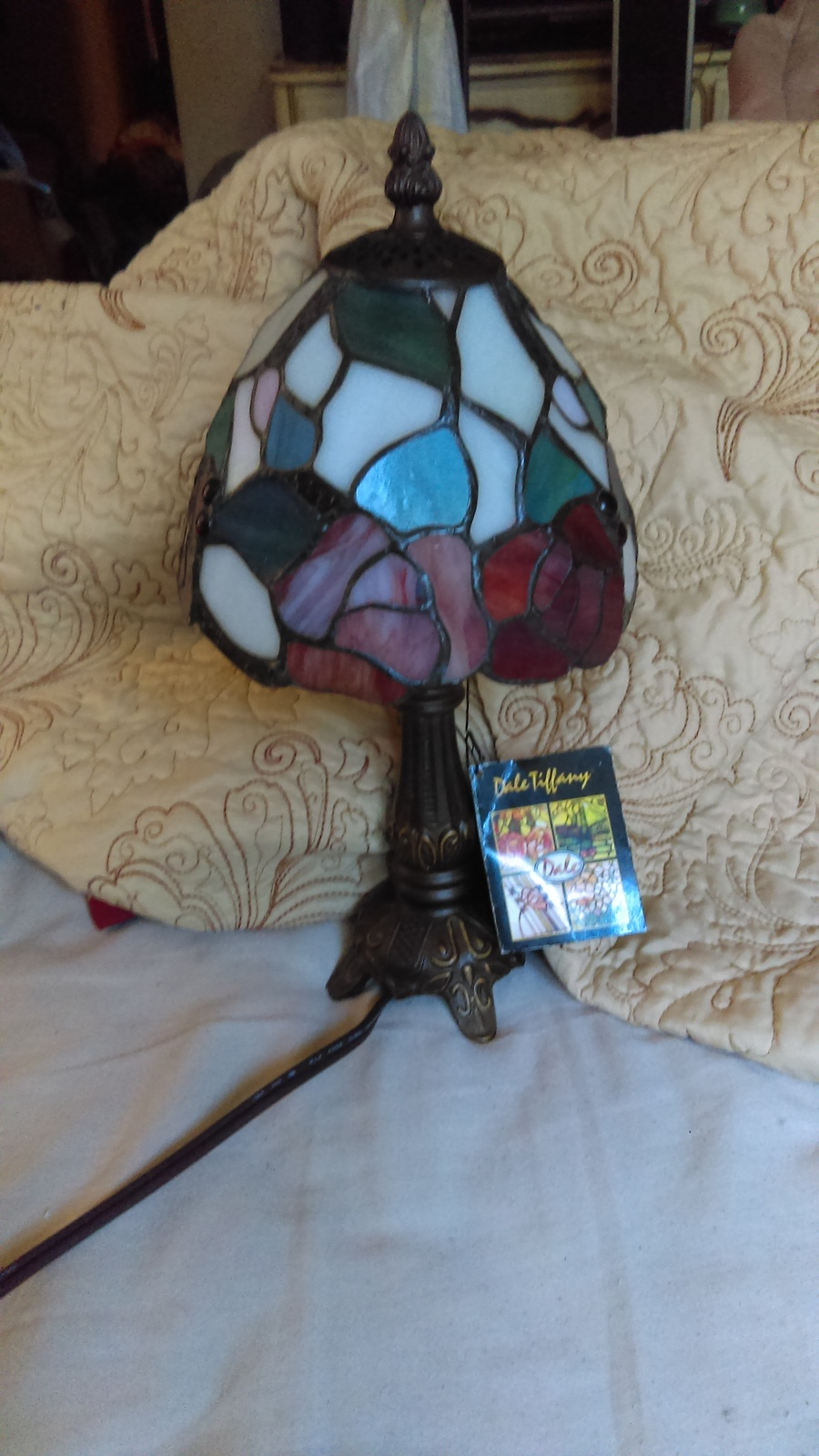 Preferred I Have A Tiffany Lamp Item Number 770 - 1666 It's A Dale Tiffany  PE68