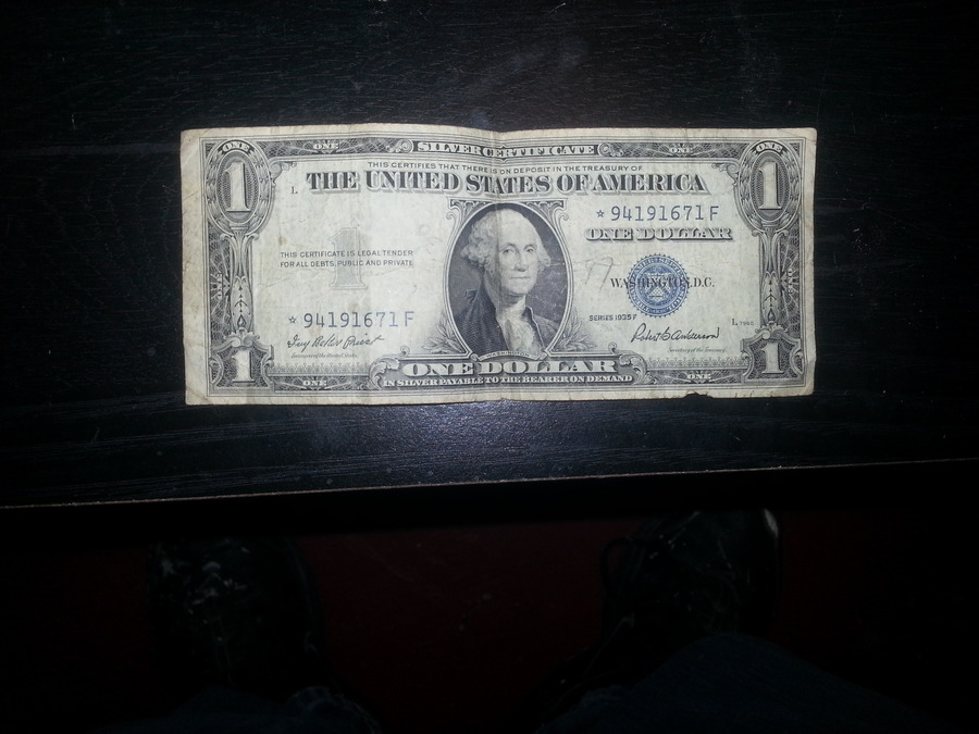 How Much Is A 1935 E Silver Certificate One Dollar Bill Worth