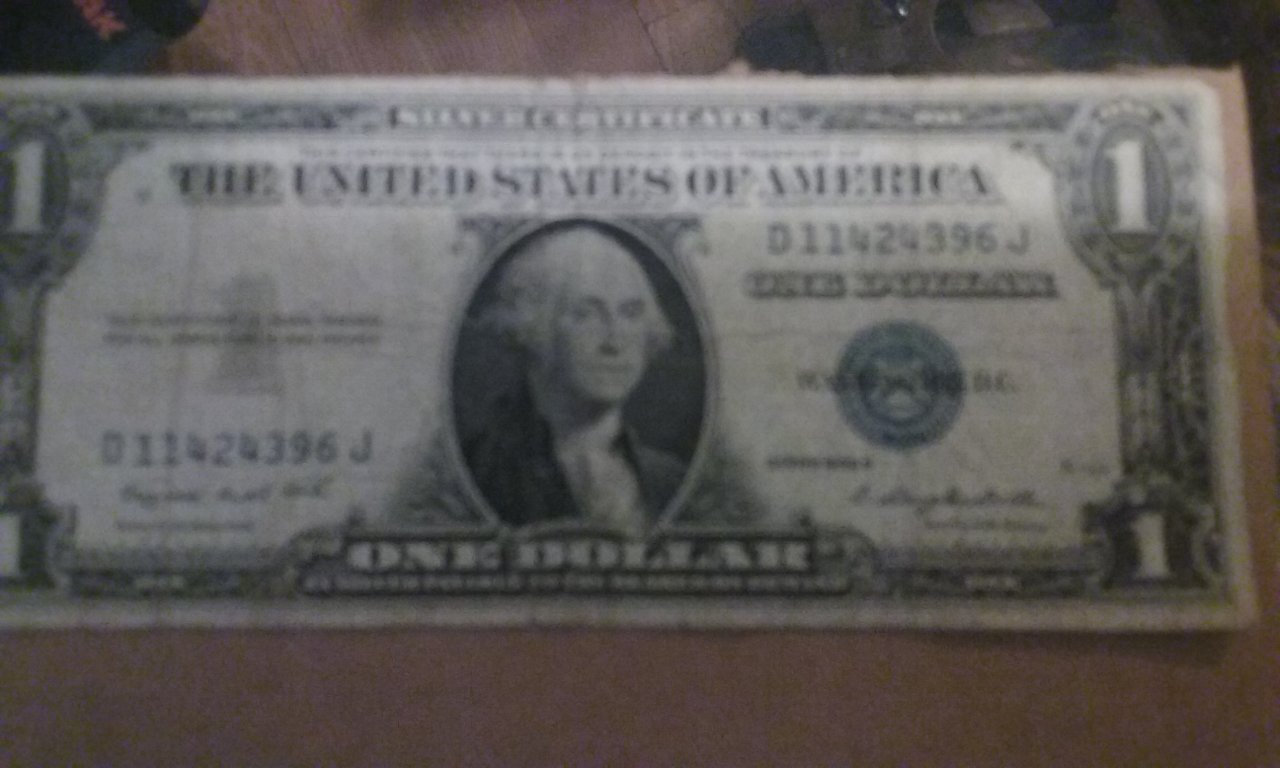 1935g And 1935f Silver Certificate One Dollar Bill Artifact Collectors