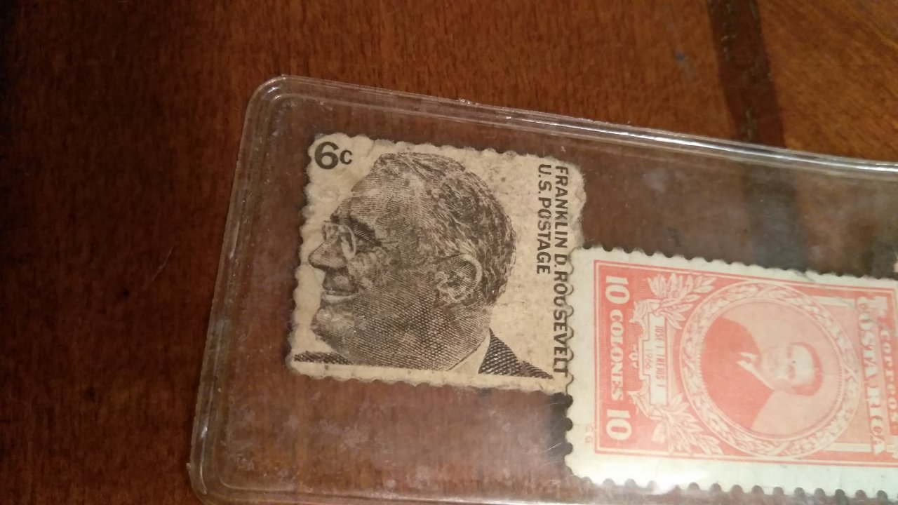 How Much Is Franklin D Roosevelt 6 Cent Stamp Worth
