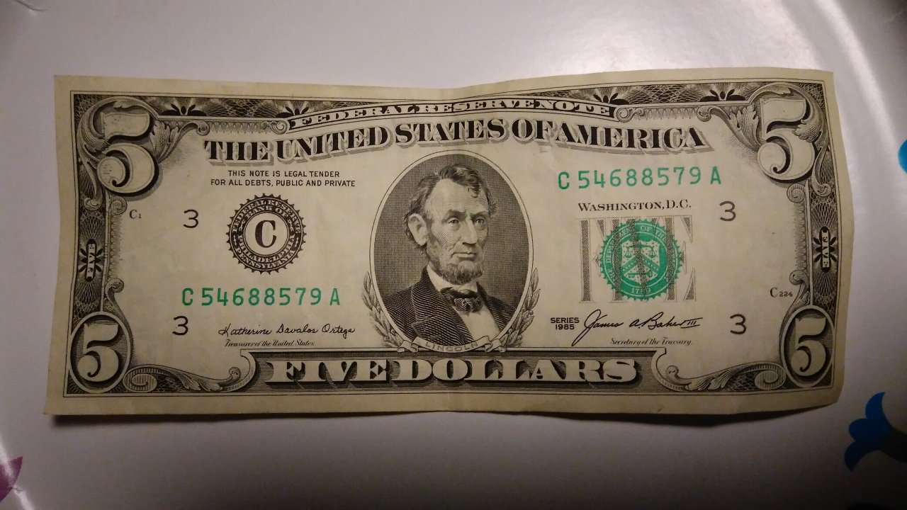 How Much Is A 1985 Five Dollar Bill Worth Artifact Collectors