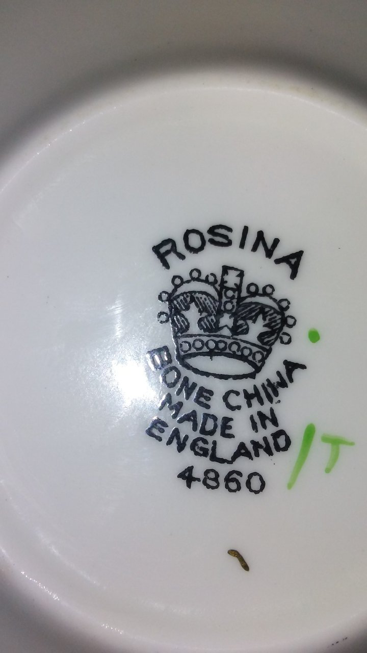 What Do The Markings Mean On Rosina Bone China 4 860